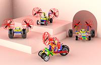 LiteBee Brix III积木无人机创意的搭建
