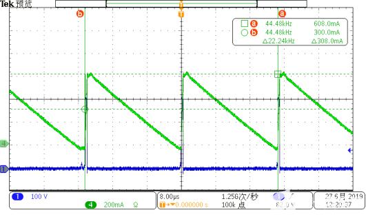 I_L3&V_D3    230VAC Io=0.3A