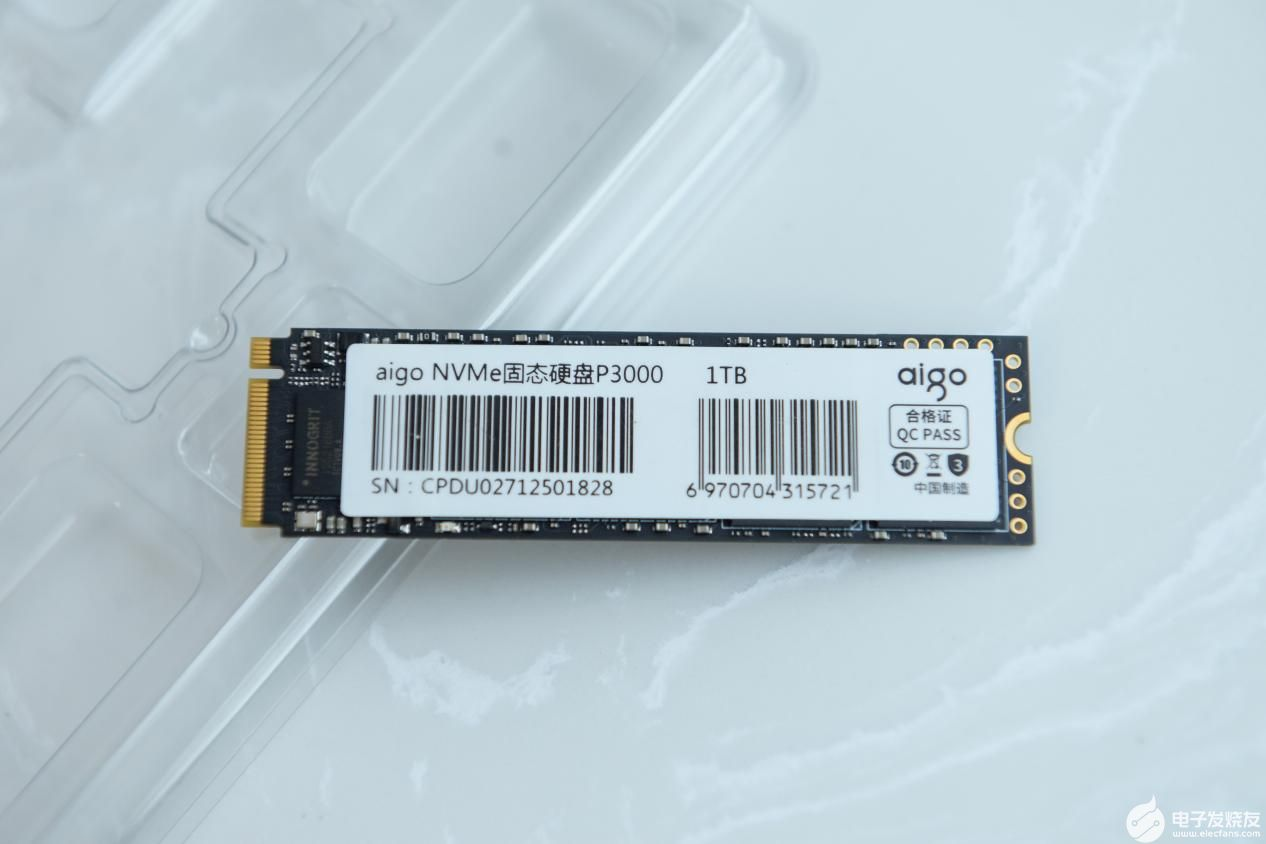 aigo国民好物固态硬盘P3000入手感受 从性价比到质价比