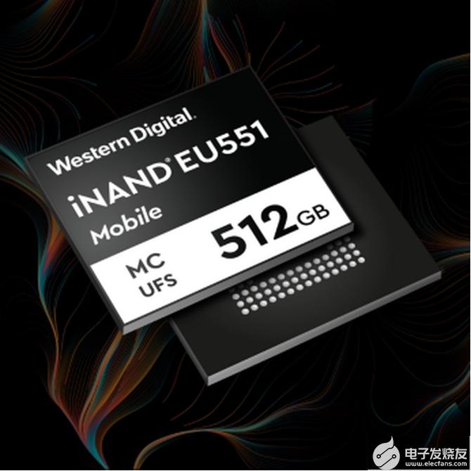 西部数据iNAND MC EU551:为更快的5...