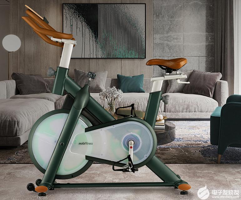 在家就能轻松运动!莫比智能动感单车,让你无需再去健身房。