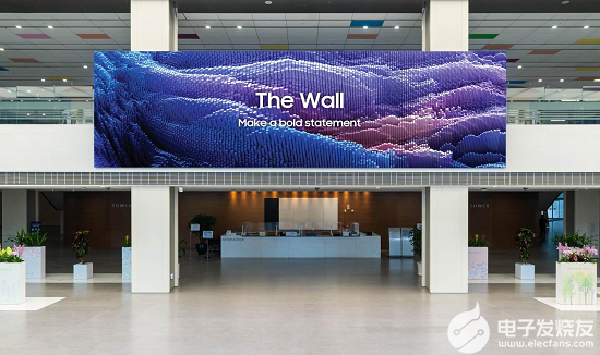 三星2021款The Wall将于9月在国内上市