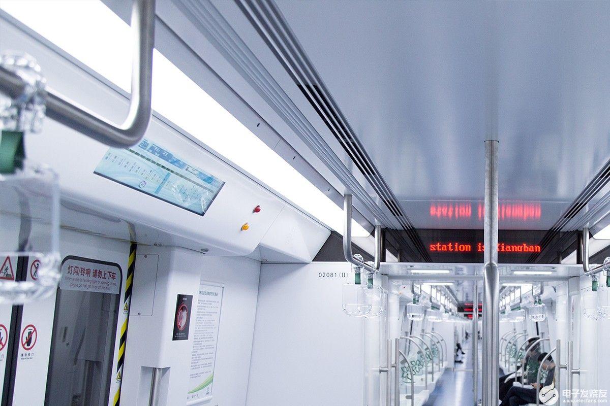"""专为地铁""""智慧""""升级,条形智能地铁导乘屏助力智慧..."""