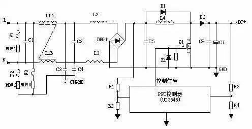 开关电源电路图及原理讲解
