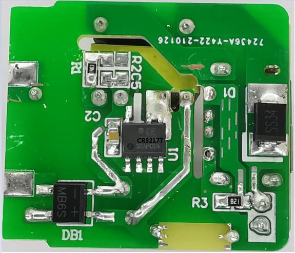 国产替代CR52177SC高性能原边检测控制的PWM开关方案帮你缓解芯片困局