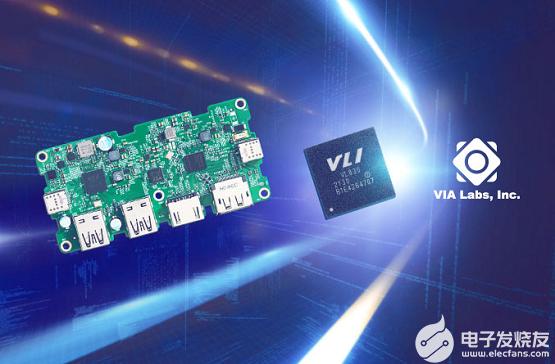 威锋电子领先全球推出USB4控制芯片