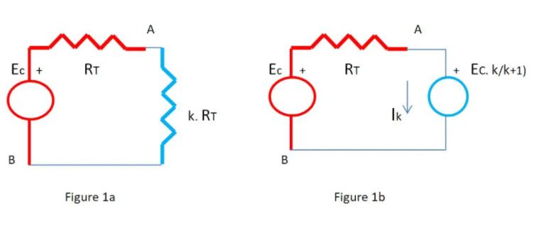 使用替代定理通過SPICE推導出戴維寧電阻值