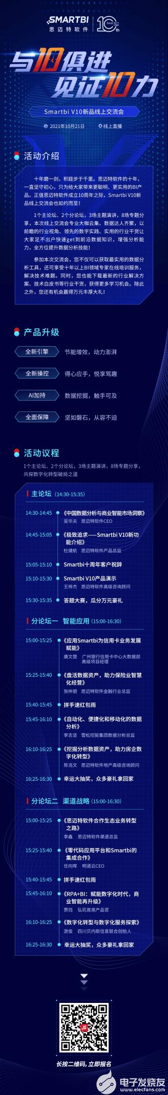 10月21日,SmartbiV10新品交流会,诚邀您的参与