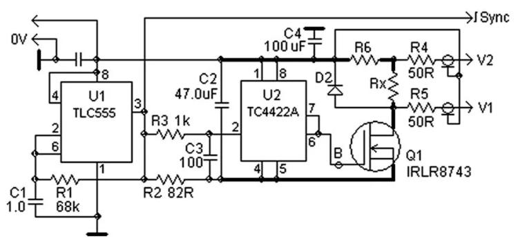 设计笔记 一种用于测量极低电阻的简单比率技术