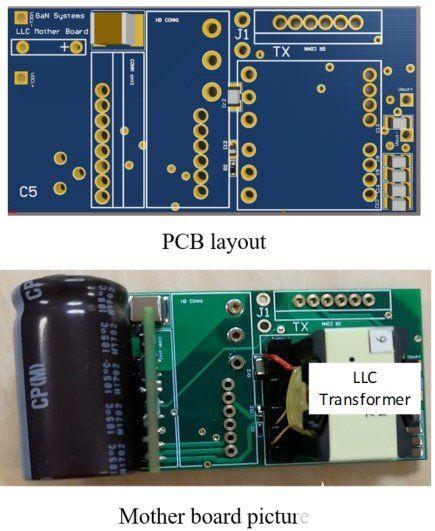 設計了基于 GaN 的 LLC 諧振轉換器原型。