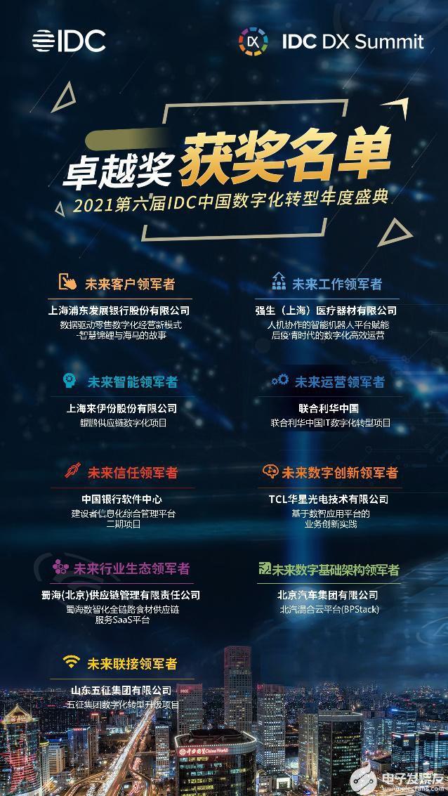 IDC中国数字化转型年度盛典在上海盛大举办