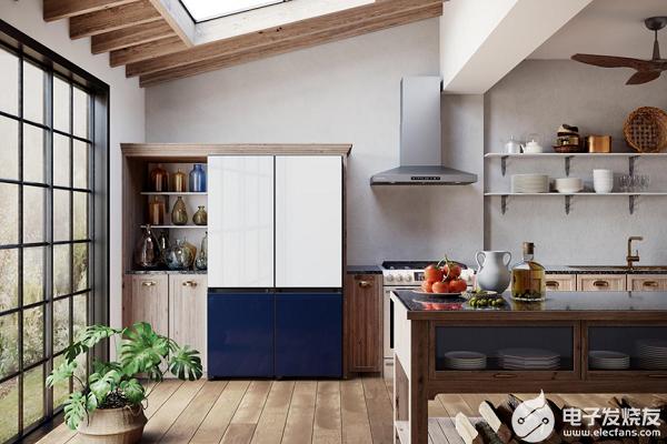 抬眼即美,Samsung BESPOKE系列冰箱定制美好生活