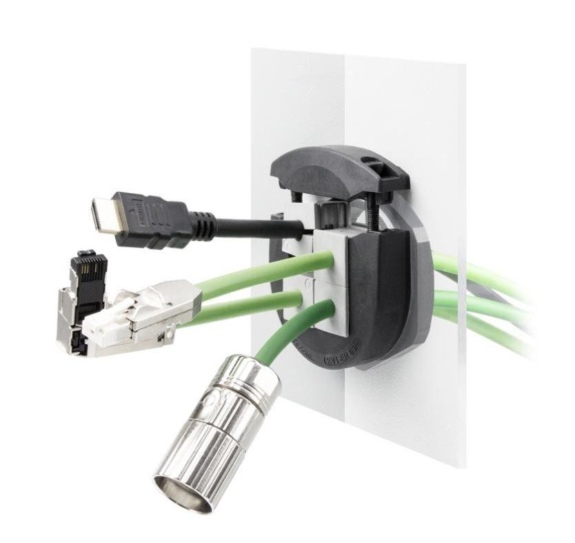 icotek可分式穿线系统在带接头电缆引入领域树立新标准