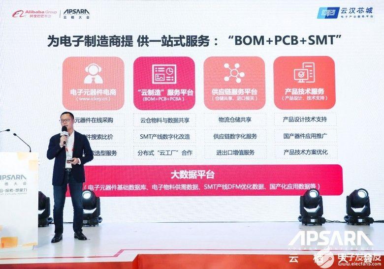 大数据助力电子制造走向未来 云汉芯城应邀参加2021云栖大会