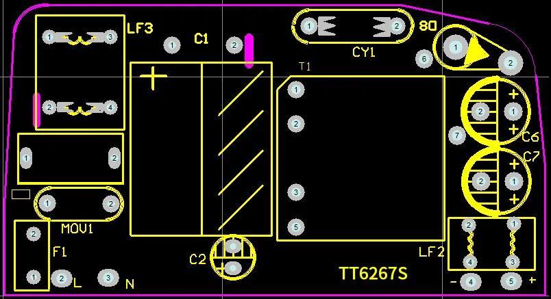 思睿达TT6267SK测试报告 良好EMI特性 低功耗 方便散热