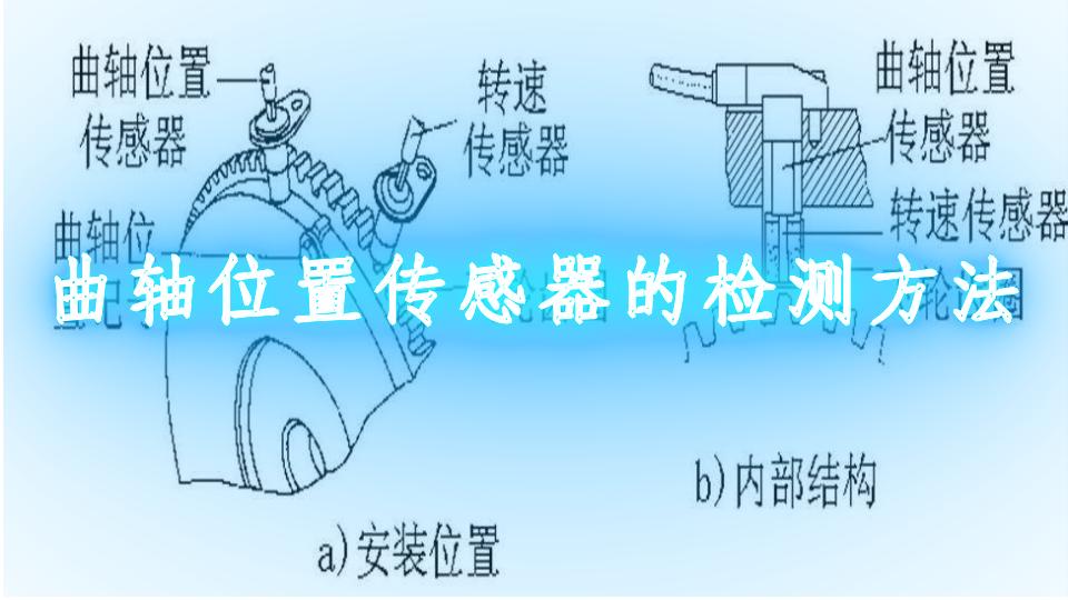 曲轴位置传感器的检测方法