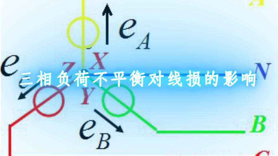 三相负荷不平衡对线损的影响