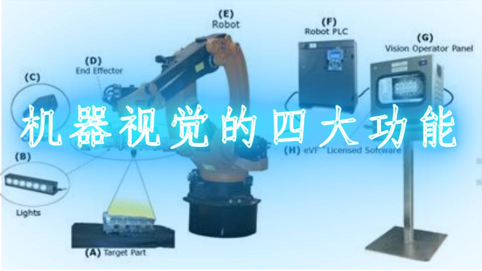 机器视觉的四大功能