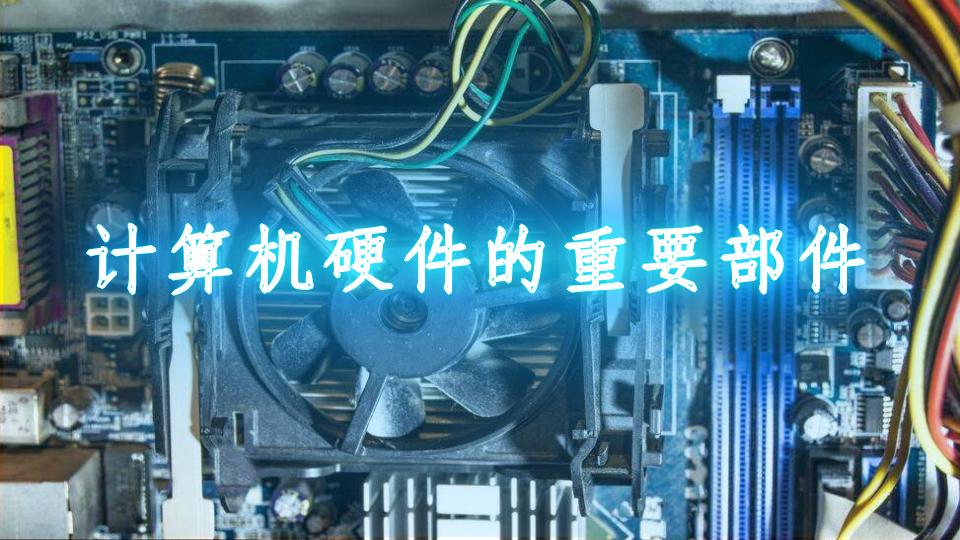 计算机硬件的重要部件