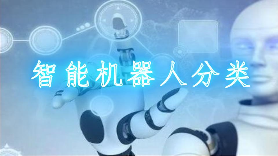 智能机器人分类