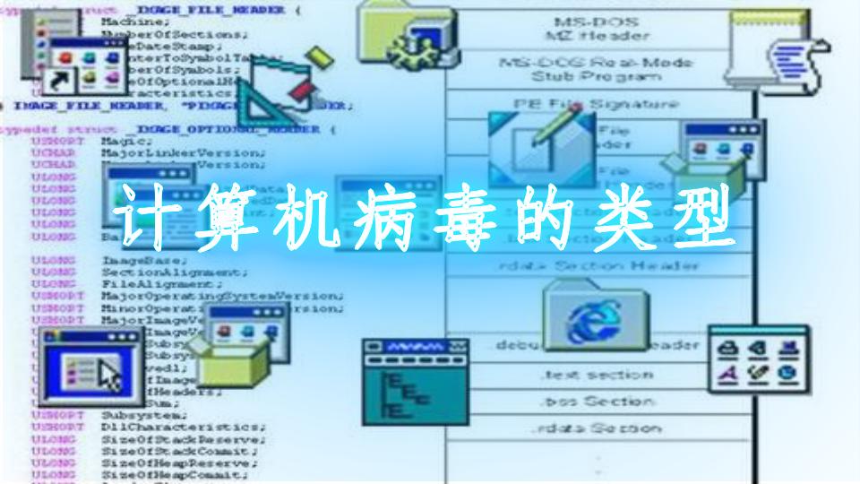 计算机病毒的类型