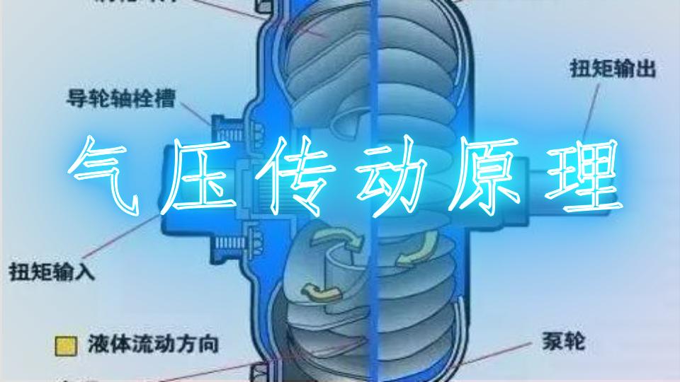 氣壓傳動原理