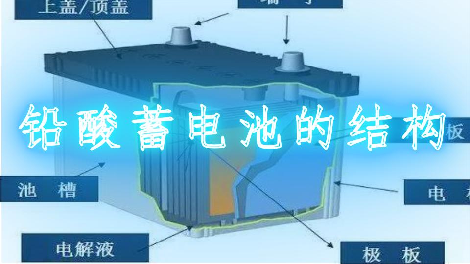 铅酸蓄电池的结构