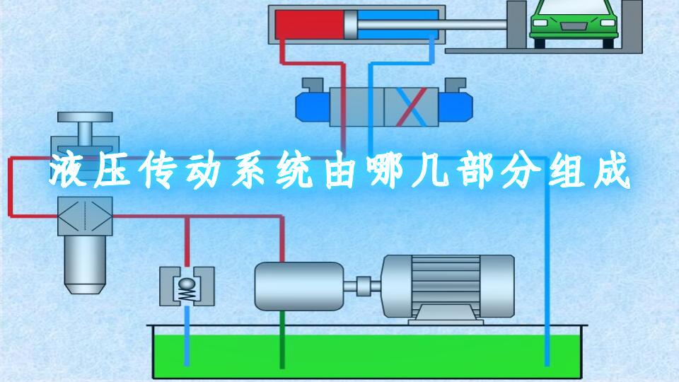 液压传动系统由哪几部分组成