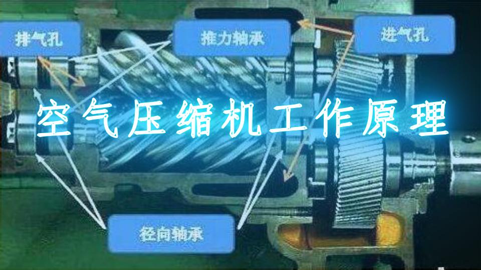 空气压缩机工作原理视频