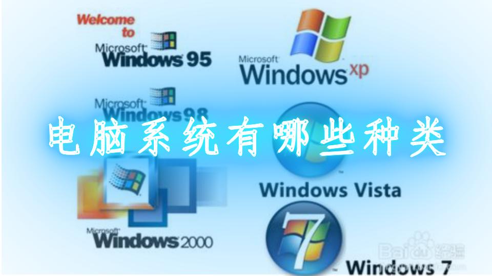 電腦系統有哪些種類