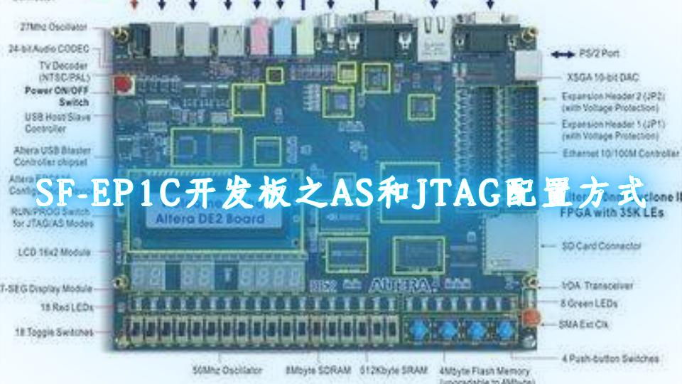 SF-EP1C开发板之AS和JTAG配置方式