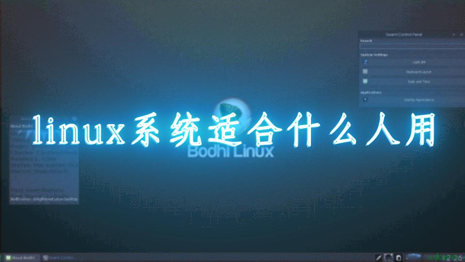 linux系统适合什么人用