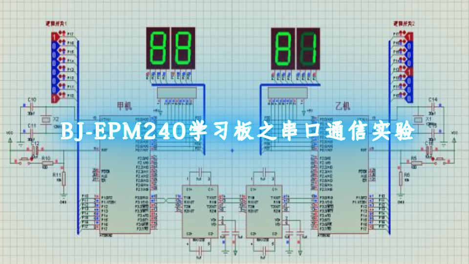 BJ-EPM240学习板之串口通信实验
