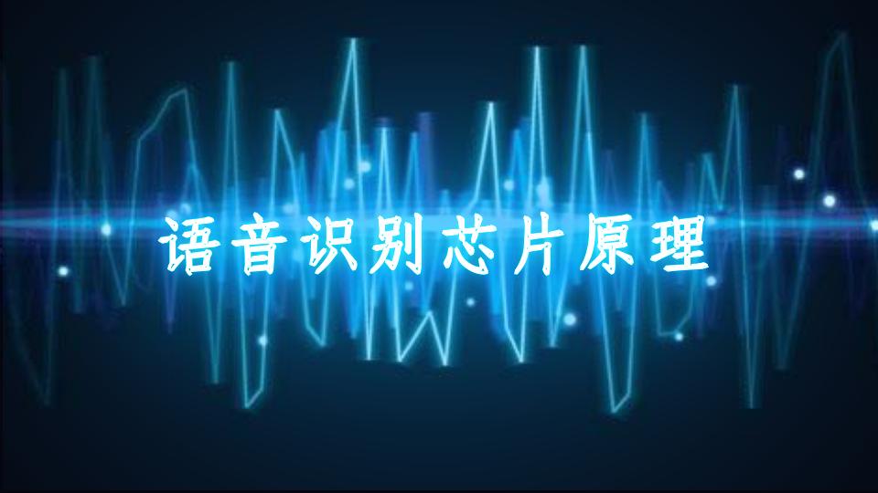 语音识别芯片原理