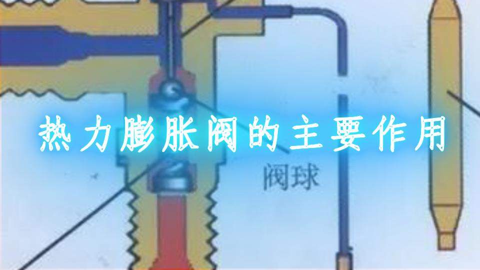 热力膨胀阀的主要作用