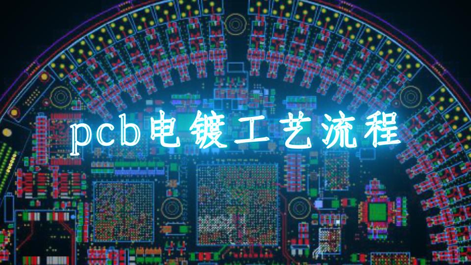 pcb電鍍工藝流程