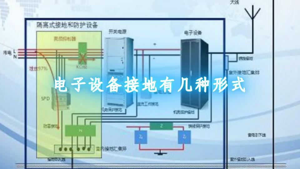电子设备接地有几种形式