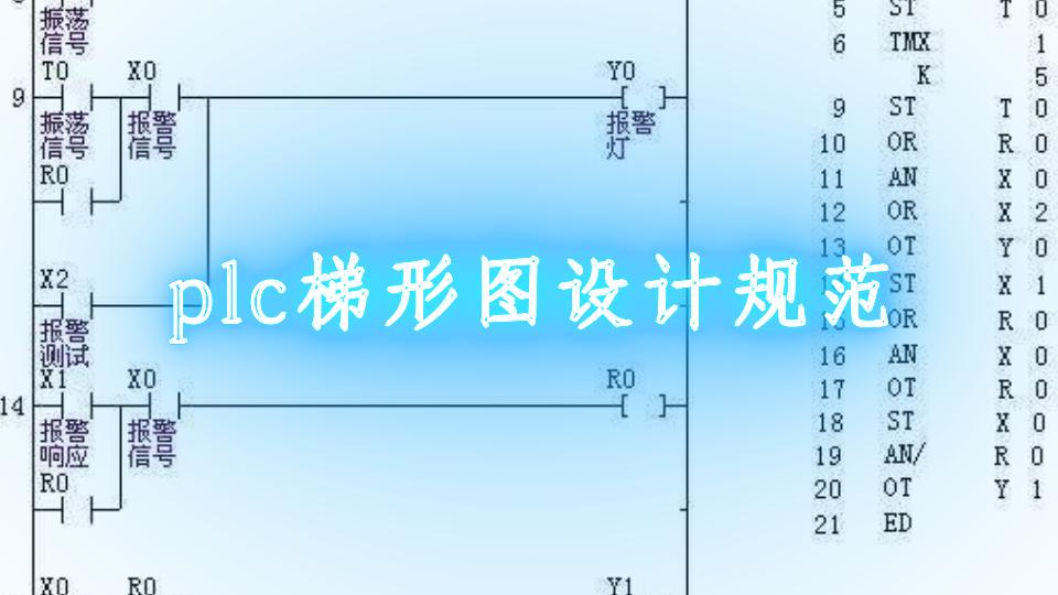 plc梯形图设计规范