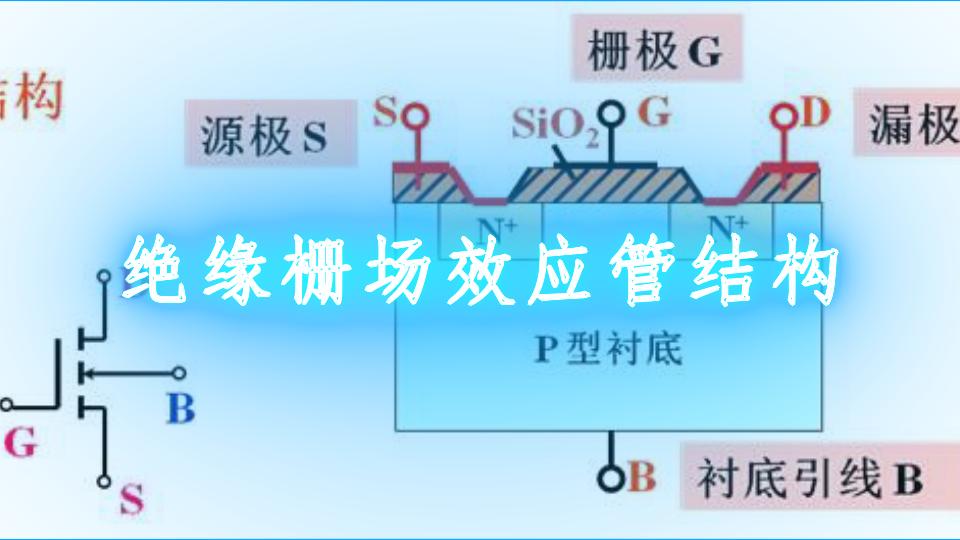 绝缘栅场效应管结构