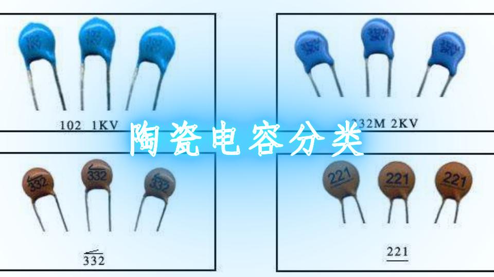 陶瓷电容分类