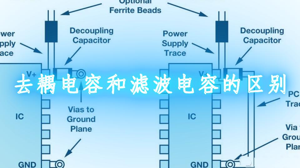 去耦电容和滤波电容的区别