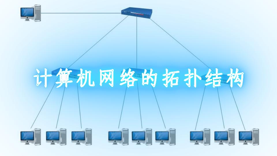计算机网络的拓扑结构
