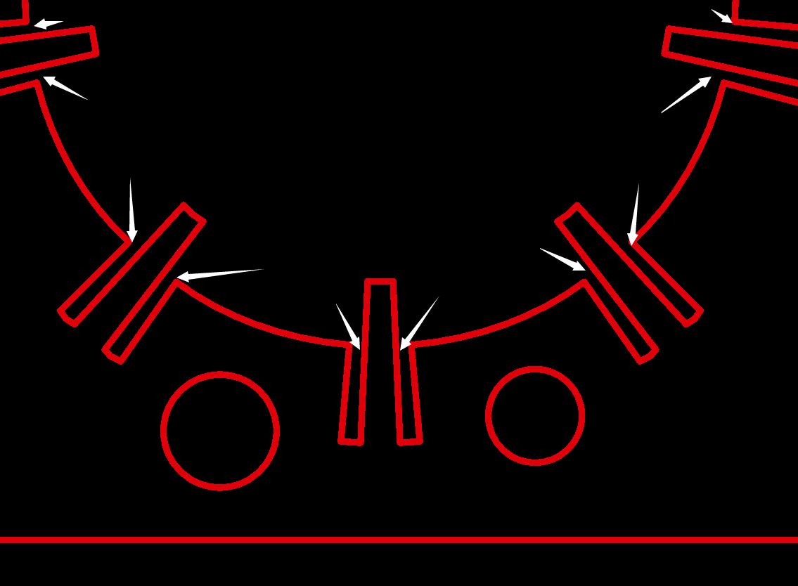 最小锣刀/锣槽设计宽度示意图1