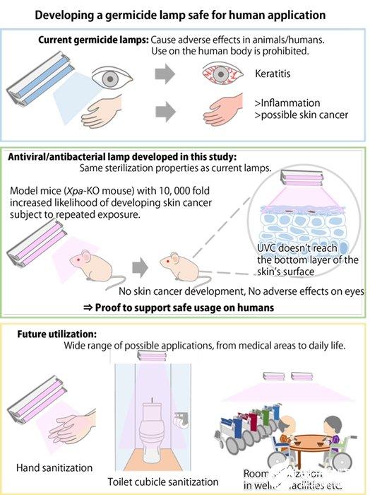 日本研究显示证明222nm深紫外线辐射对人体皮肤和眼睛无害 有望广泛用于医疗机构和日常生活等场所的杀菌消毒