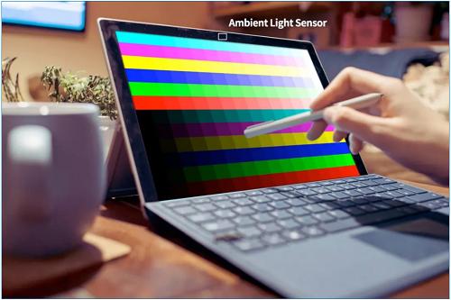 筆記本電腦中光學傳感器開發 數字ALS方案的五大優點