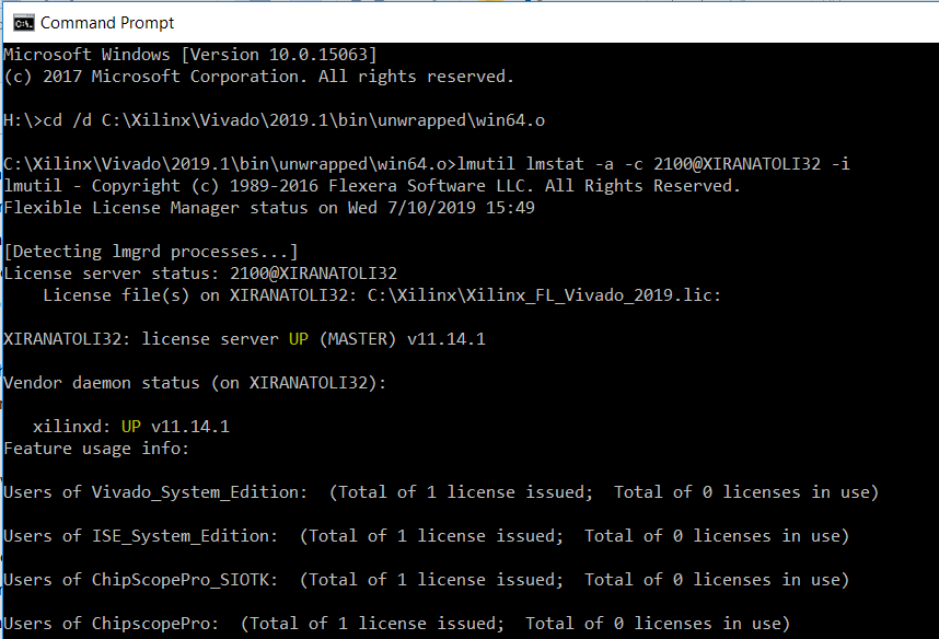 Vivado/ISE中不同类型的许可证时常放的错误解析