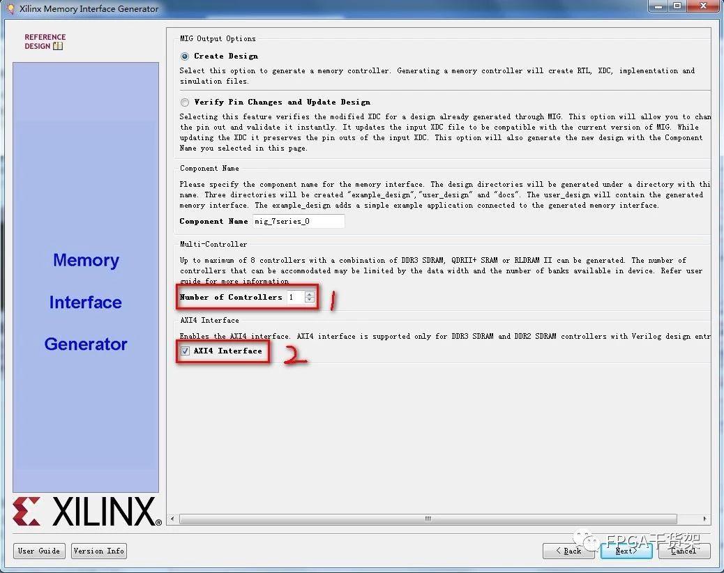 Xilinx DDR控制器MIG IP核的例化及仿真