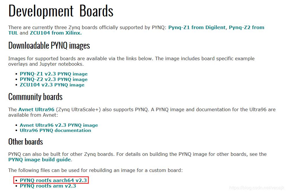 PYNQ移植ZCU102详细流程分析
