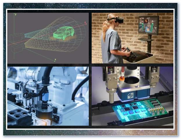 机器视觉在工业市场的应用 基于机器视觉的双目图像采集处理实例