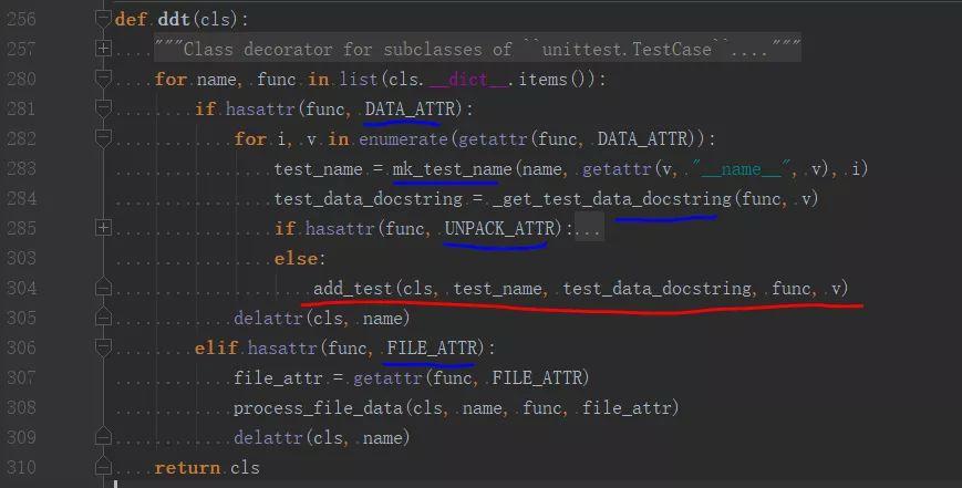 python学习:三个测试库的装饰器实现思路